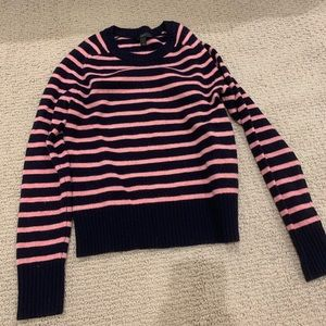 Striped Jcrew sweater
